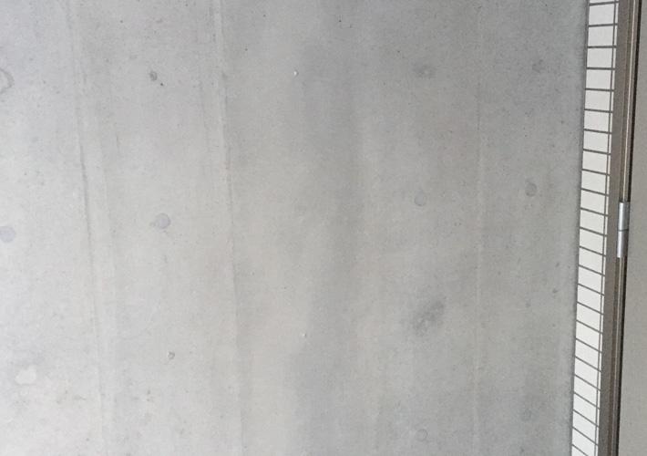 浸透性接着工法でのコンクリートクラック補修