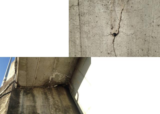老朽化が進むコンクリートの問題